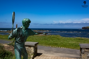 Richard Harris statue, Kilkee. Co. Clare